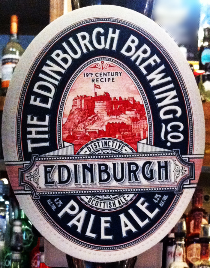 Edinburgh Pale Ale pump
