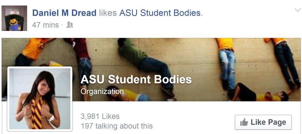 Gallegos ASU facebook page