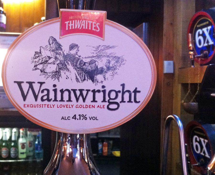 Thwaites Wainwright pump clib