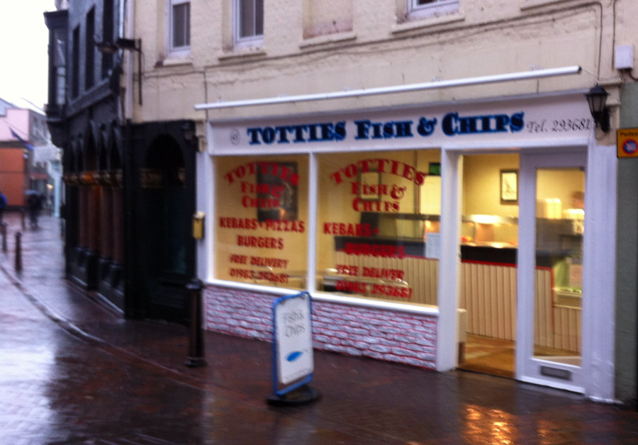 Totties Fish and Chips Cowes