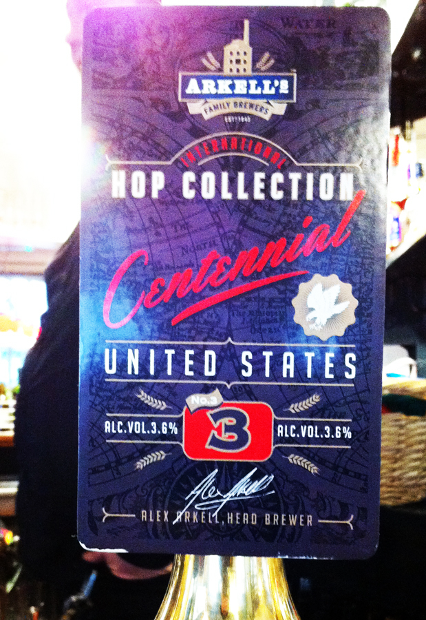 Arkell's United States Centennial Hops Collection pump