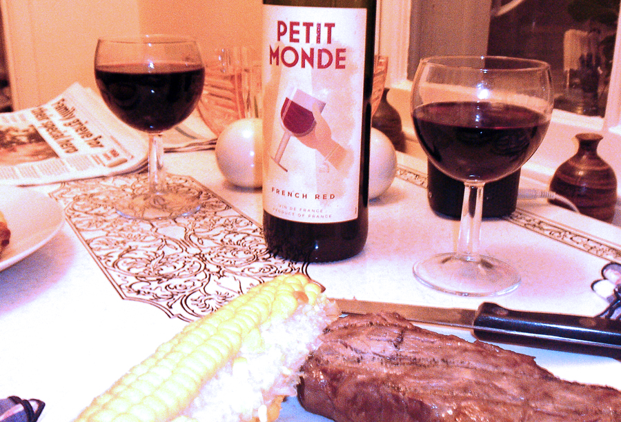 Petit Monde French Red table wine