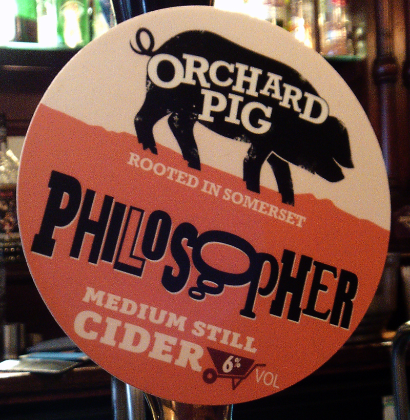 Pig and Drum Worcester Orchard Pig Philosopher