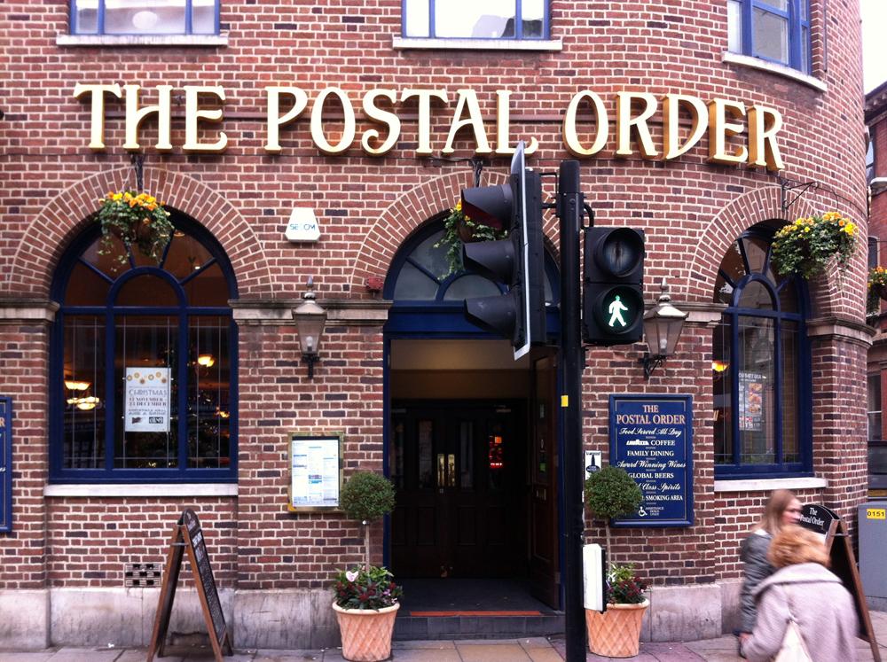 Postal Order Worcester