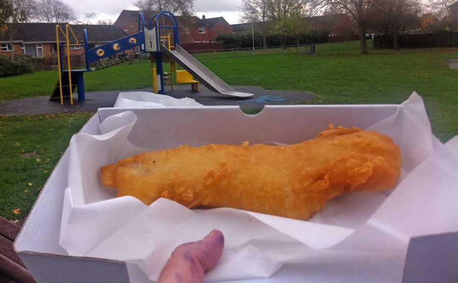 Robinsons Traditional Fish and Chips Bowerhill cod