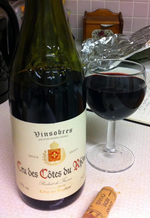 Vinsobures Cru des Cotes du Rhone