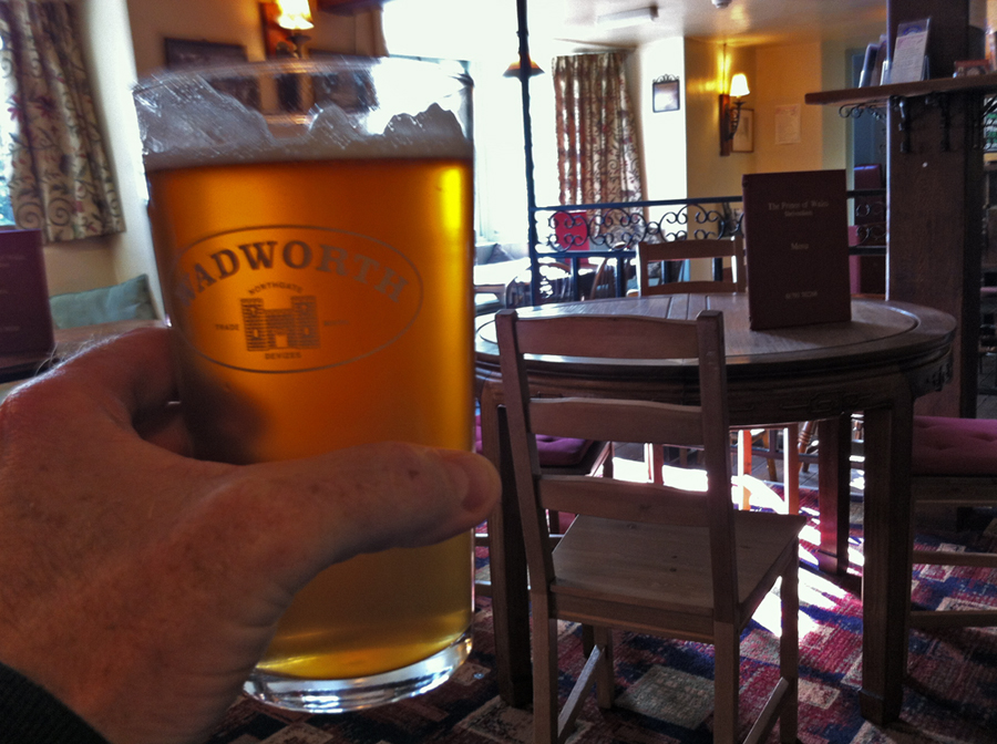 Wadworth Green Hopped Beer