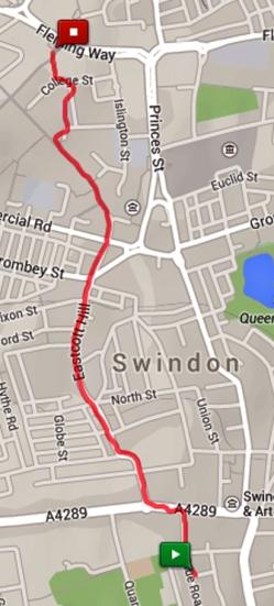 2014-12-02 bus dash in Swindon