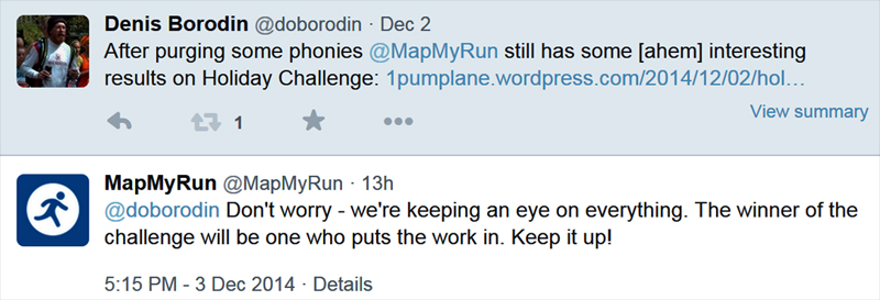 2014-12-03 MapMyRun takes notice