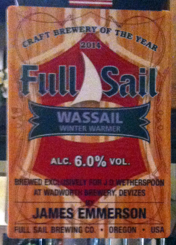 Full Sail Wassail pump