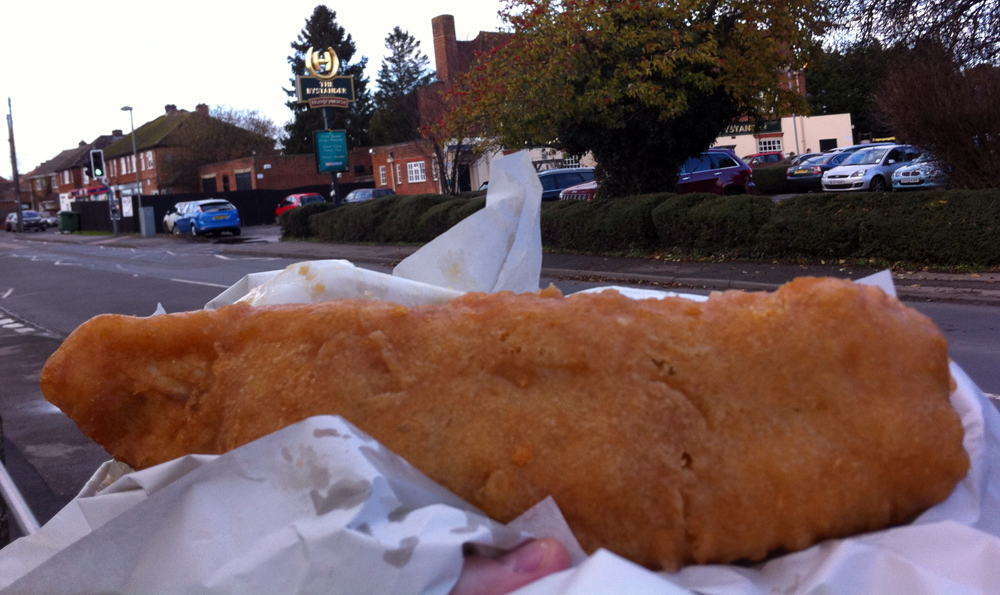 Leo Fish and Chips Wootton Oxon cod