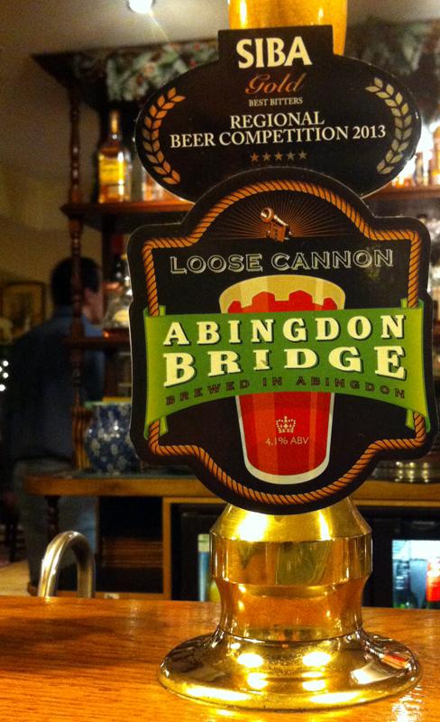 Loose Cannon Abingdon Bridge pump
