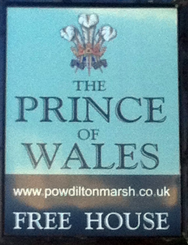 Prince of Wales Dilton Marsh sign