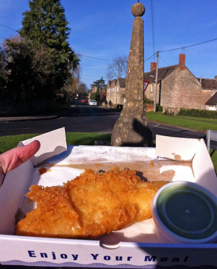 South Cerney Fish and Chips cod